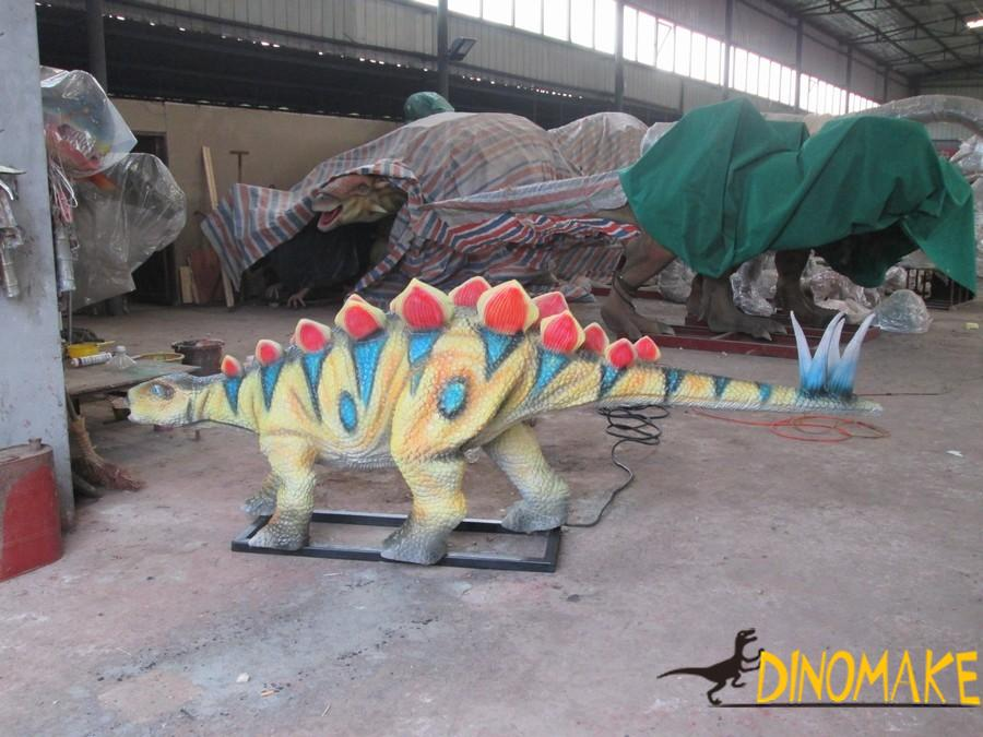 Taboos in a animatronic dinosaurs exhibition