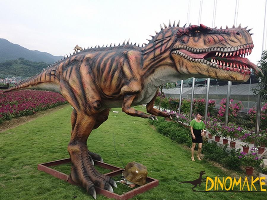 Technological characteristics of animatronic dinosaur model