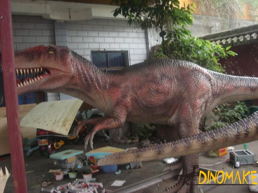 The Large Animatronic dinosaur exhibition