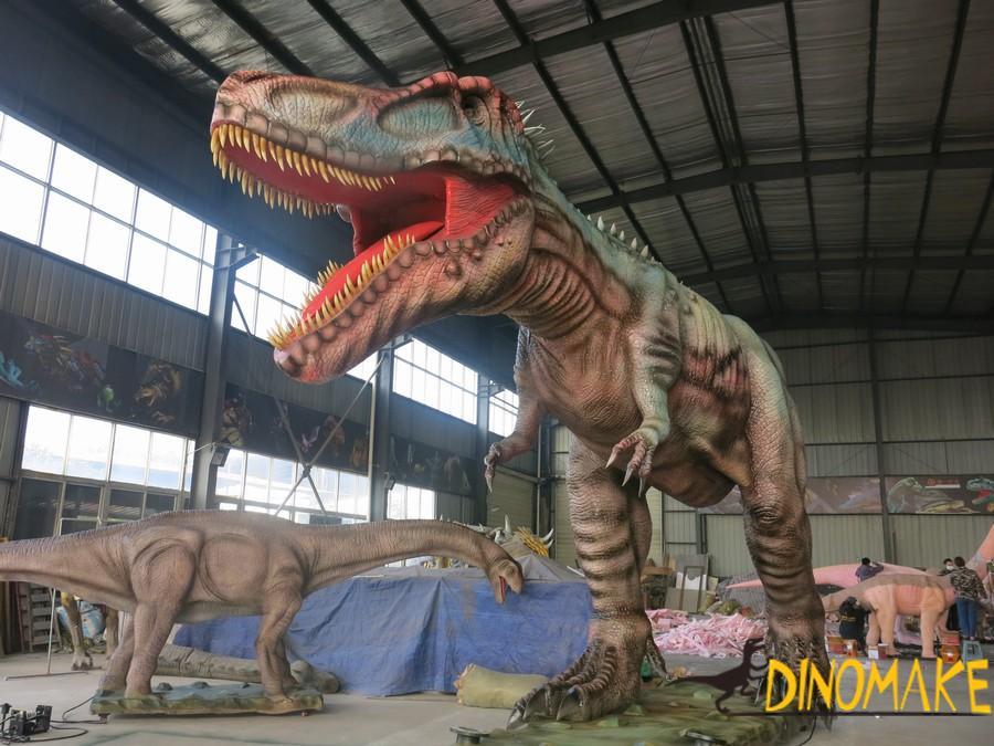 The Large Animatronic dinosaurs model