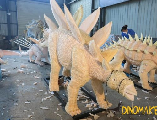 The favorite dragon leased by Jiangxi Old Watch in the animatronic of dinosaurs