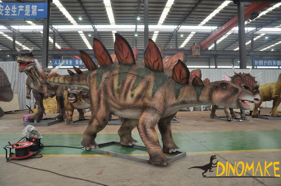 The introduction of animatronic Dinosaur product