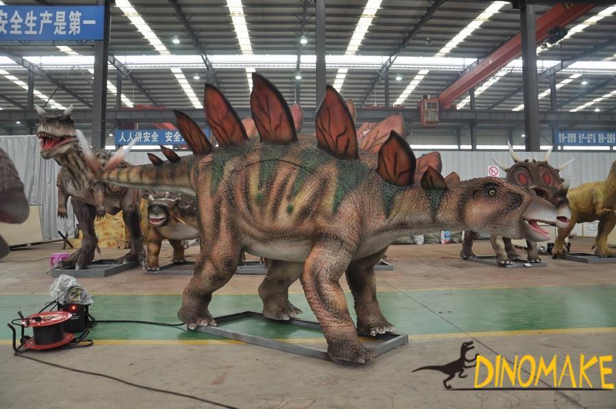The introduction of animatronic Dinosaur product