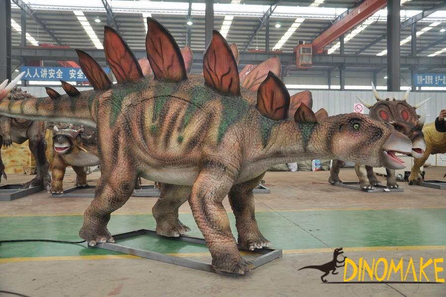 The introduction of animatronic Dinosaur