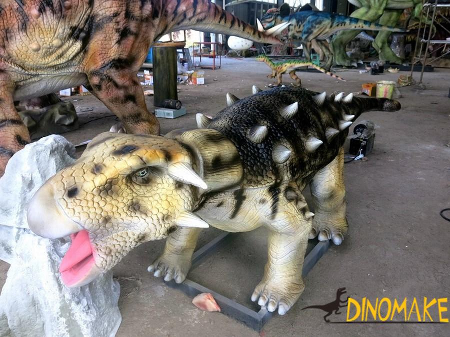 The largest animatronic dinosaur park of world