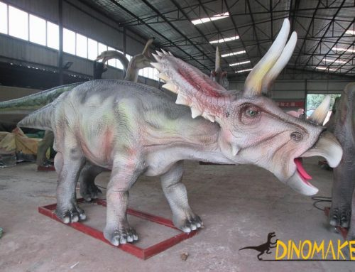 The largest animatronic dinosaur park