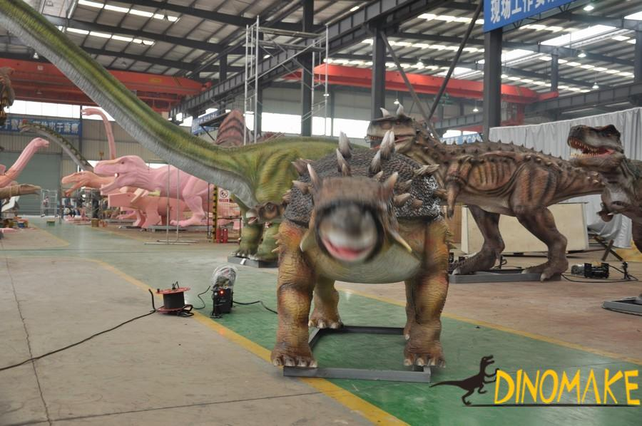 The largest animatronic dinosaur park product of world