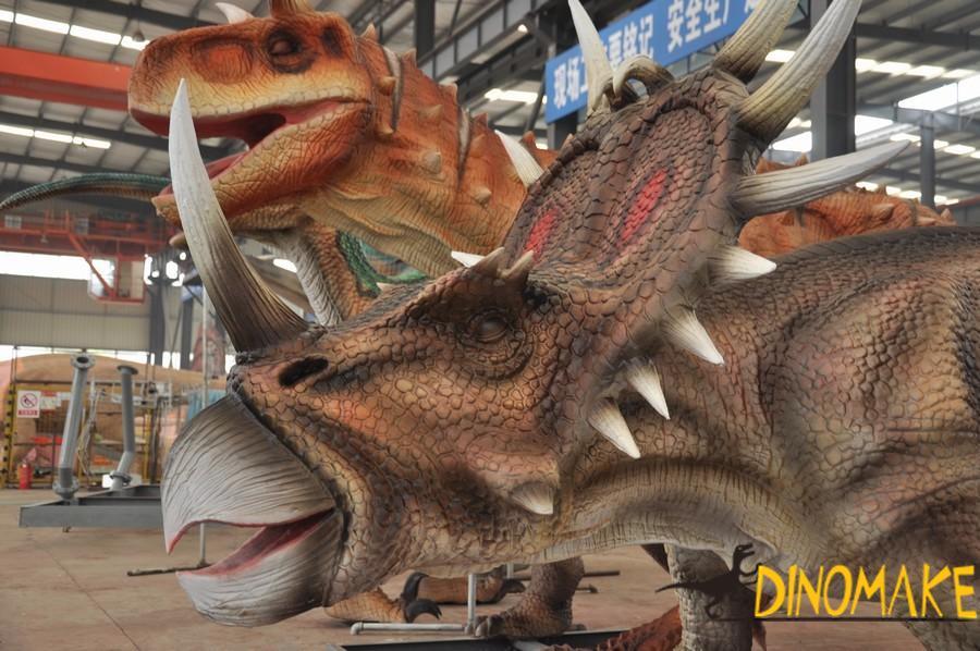 The largest animatronic dinosaur park