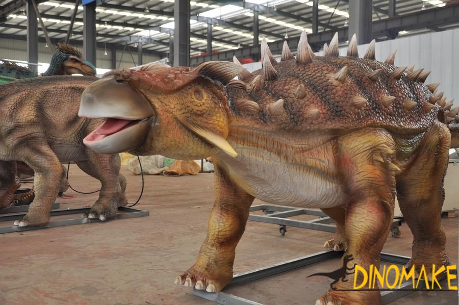 The largest animatronic dinosaurs park of world
