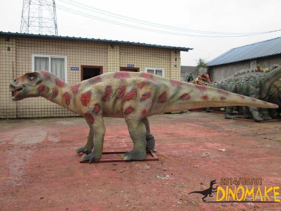 The love dinosaur in the Animatronic dinosaurs-the Maiasaura