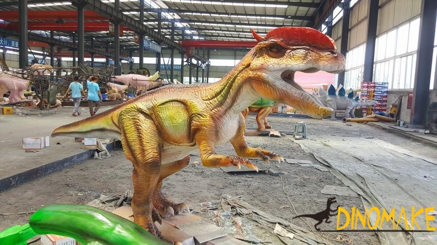 The most complete company in the Animatronic dinosaur exhibition