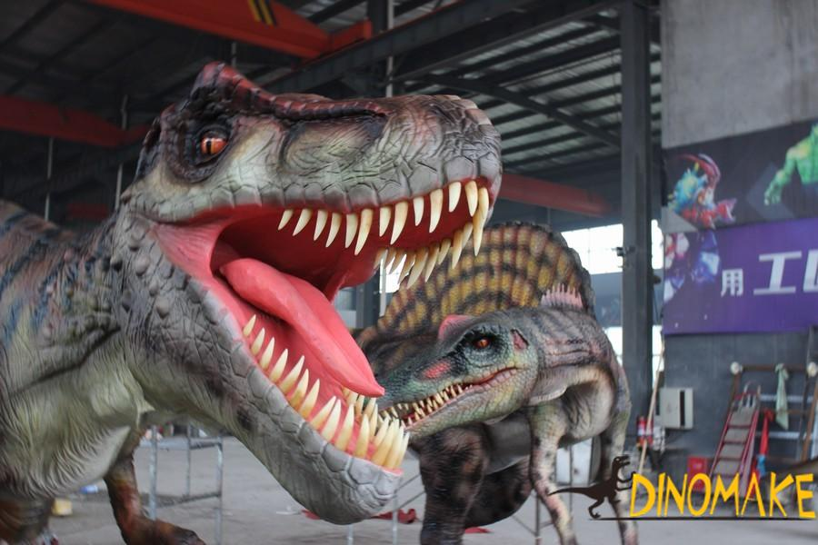 The most ferocious Animatronic dinosaur T-Rex