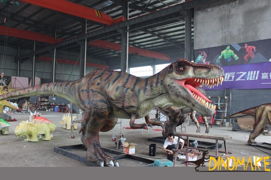 The most ferocious Animatronic dinosaur Tyrannosaurus Rex