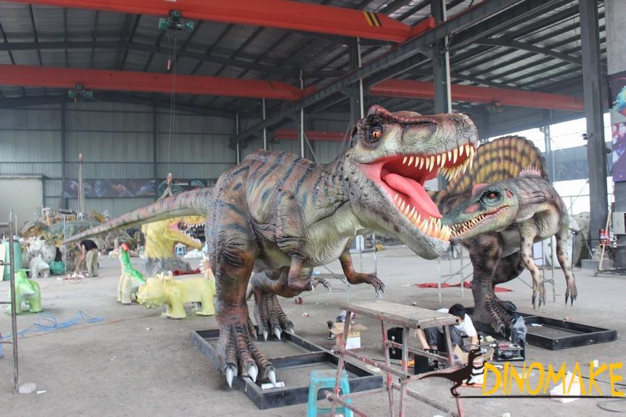 The most ferocious Animatronic dinosaurs Tyrannosaurus Rex