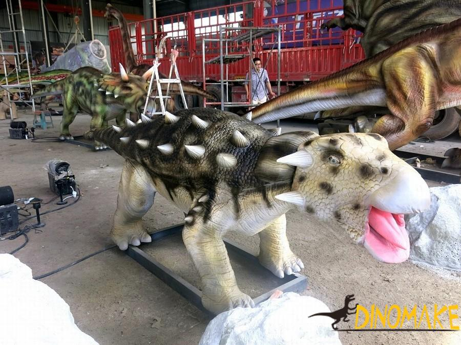 The most popular cartoon dinosaur model in animatronic dinosaurs