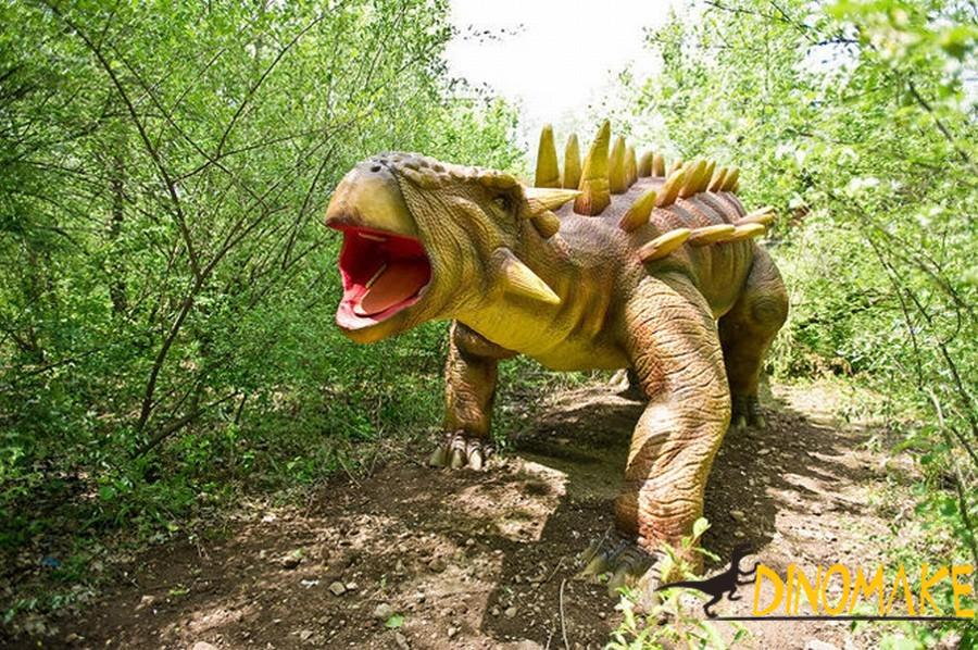 The significance of animatronic dinosaur