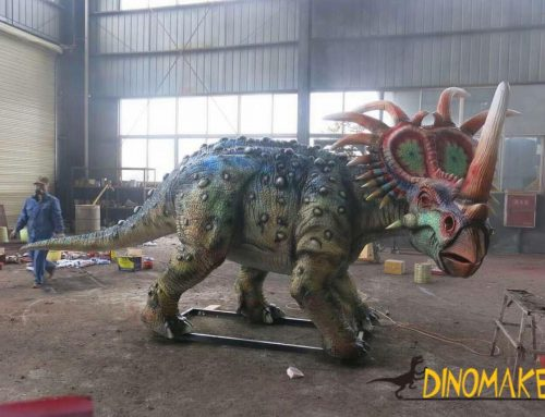 Theme scenic spot construction elements Animatronic dinosaur