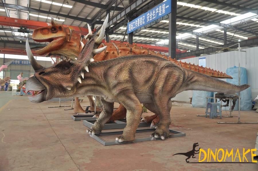 Theme scenic spot construction elements Animatronic dinosaur products