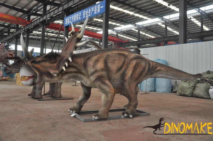 Theme scenic spot construction elements Animatronic dinosaur