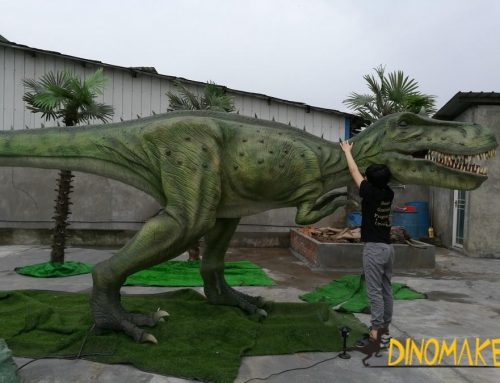 Wanda Plaza Imitation Animatronic Dinosaur Bug Exhibition