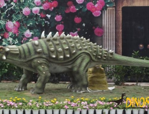 What are the Animatronic dinosaur design companies