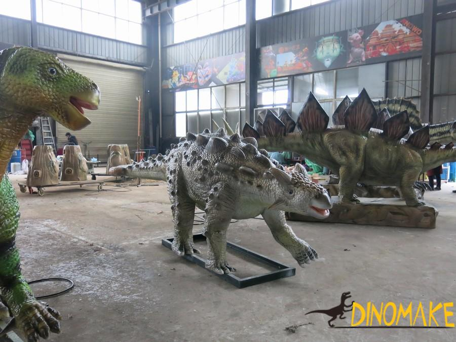 What are the Animatronic dinosaur design