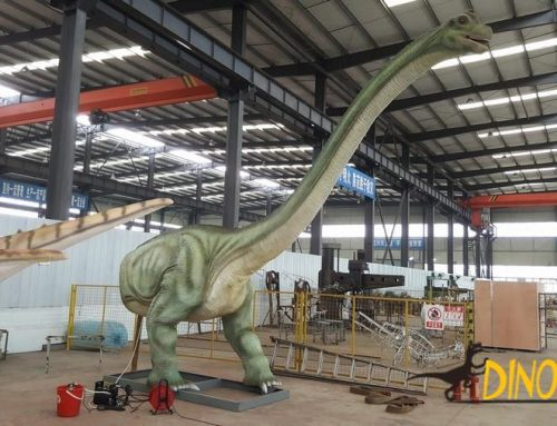 What are the Animatronic dinosaur production processes