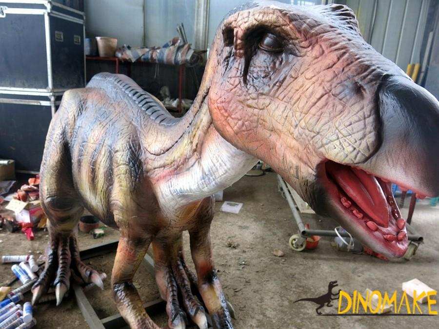What materials are needed for dinosaur model repair