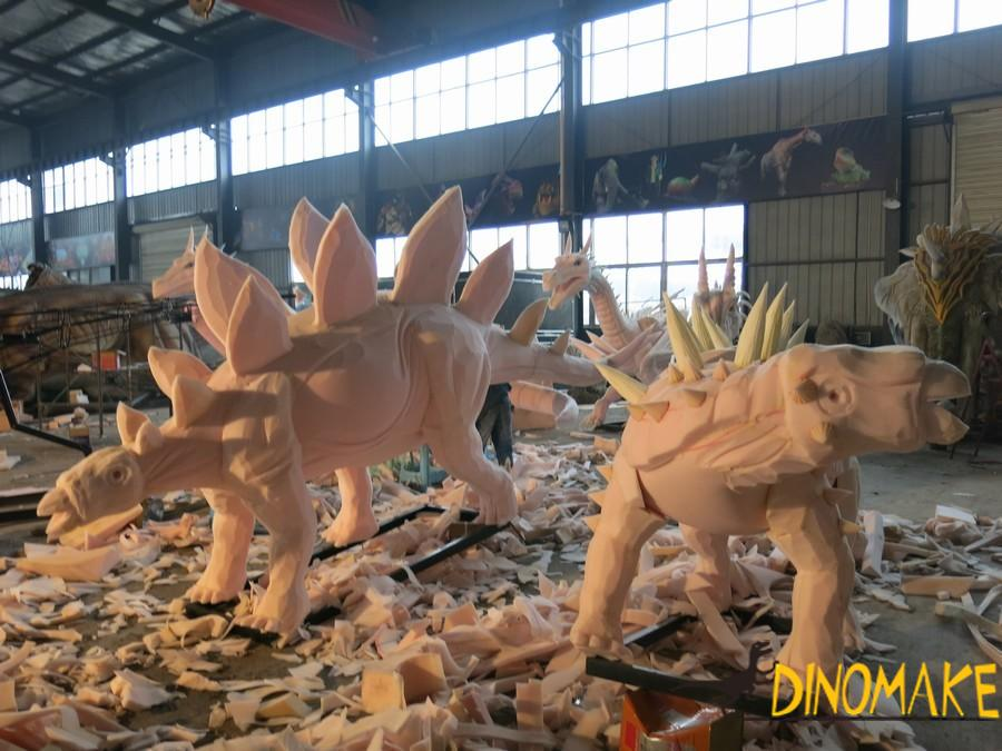 Where is the animatronic dinosaur company