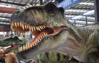 Who are Tyrannosaurus Rex's natural enemies