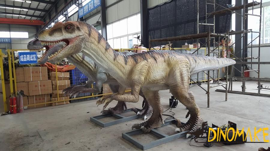 Who is the largest Animatronic dinosaur model company