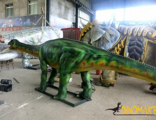 Why rent a animatronic dinosaur model?