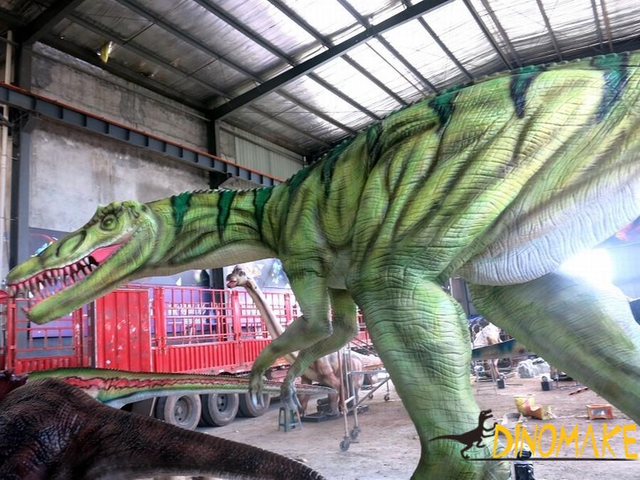 Zhejiang animatronic dinosaur models Lu Fenglong