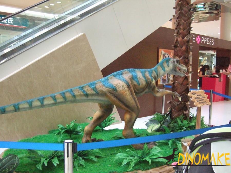 Zhejiang animatronic dinosaurs model Lu Fenglong