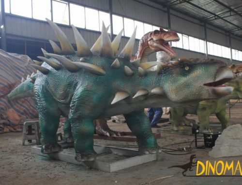 Dragons of animatronic Dinosaur