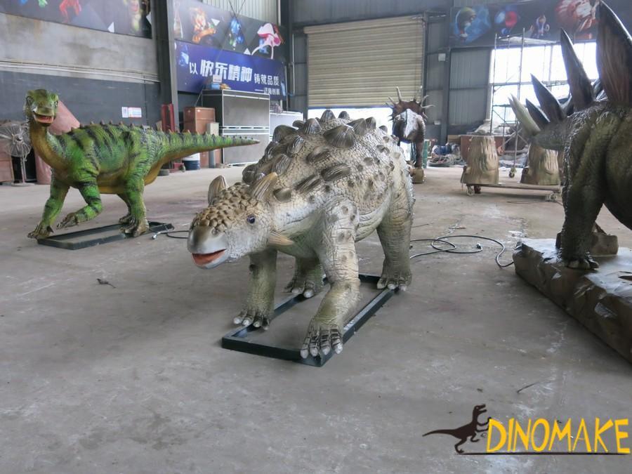 animatronic dinosaur exhibition ends successfully