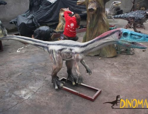 animatronic dinosaur material manufacturing