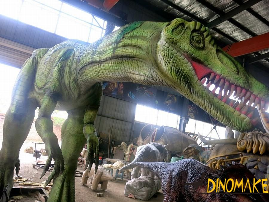 animatronic dinosaur model Lu Fenglong