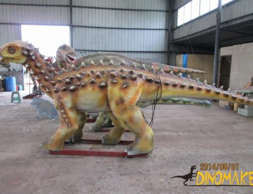 animatronic dinosaur model and dinosaur century science