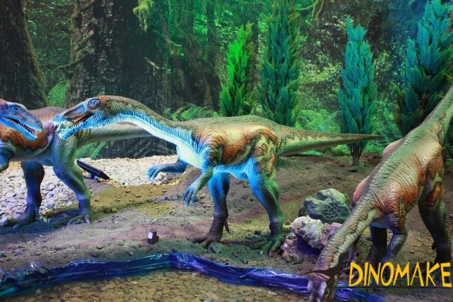 animatronic dinosaur product material manufacturing