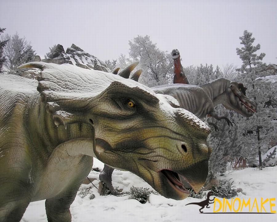 animatronic dinosaur production process