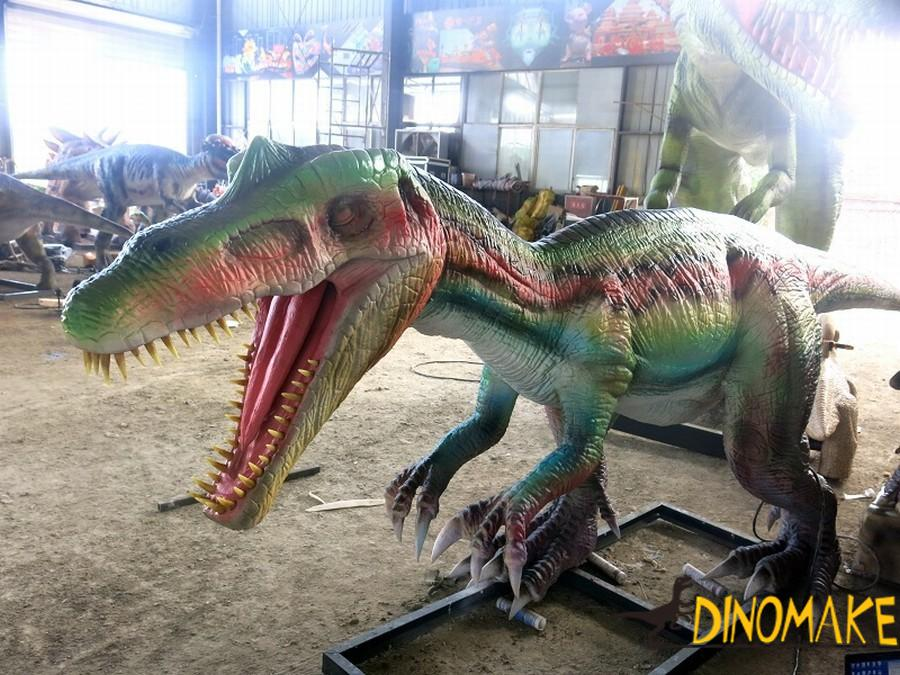 animatronic in the family of plant dinosaur