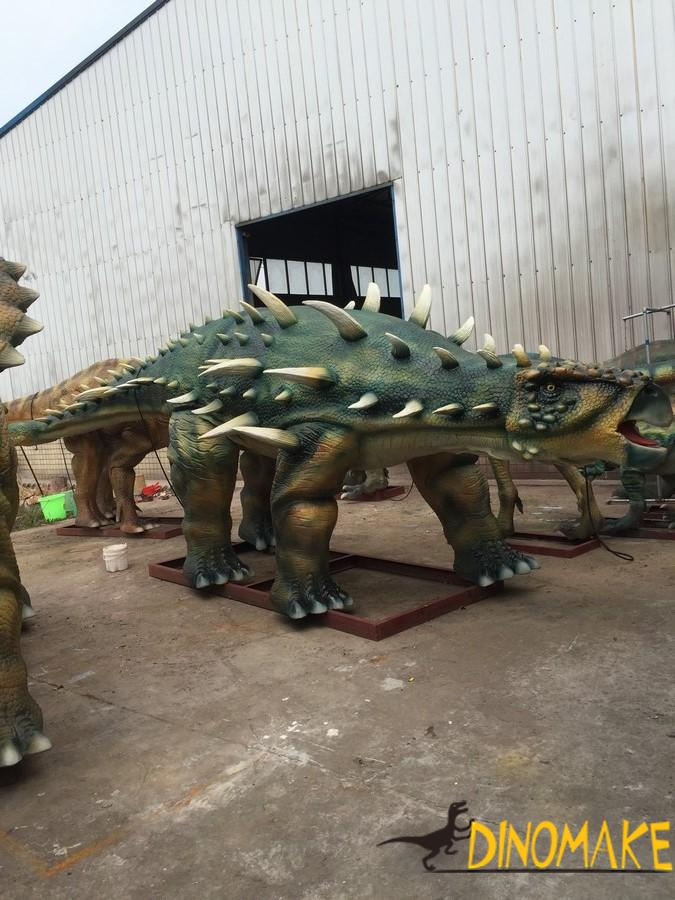 dinosaur exhibition ends successfully