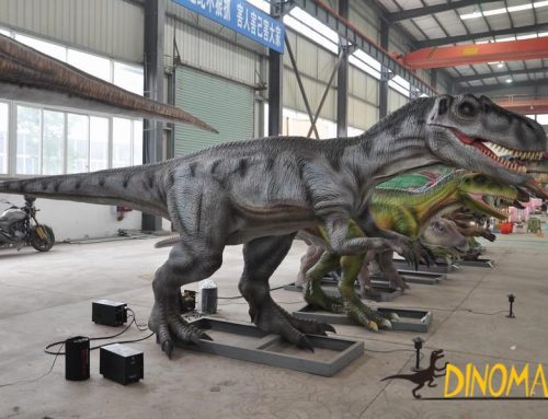 Who is the largest Animatronic dinosaur model making company