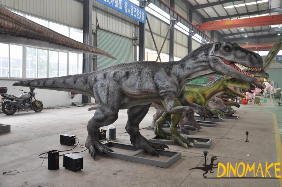 largest Animatronic dinosaur model making company