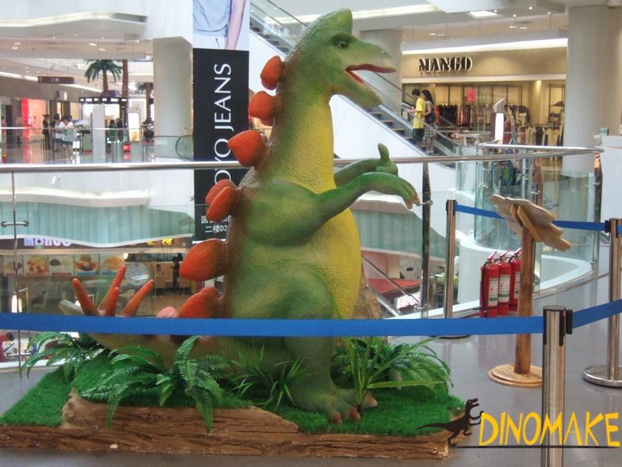 stegosaur exhibition of Animatronic Dinosaur product
