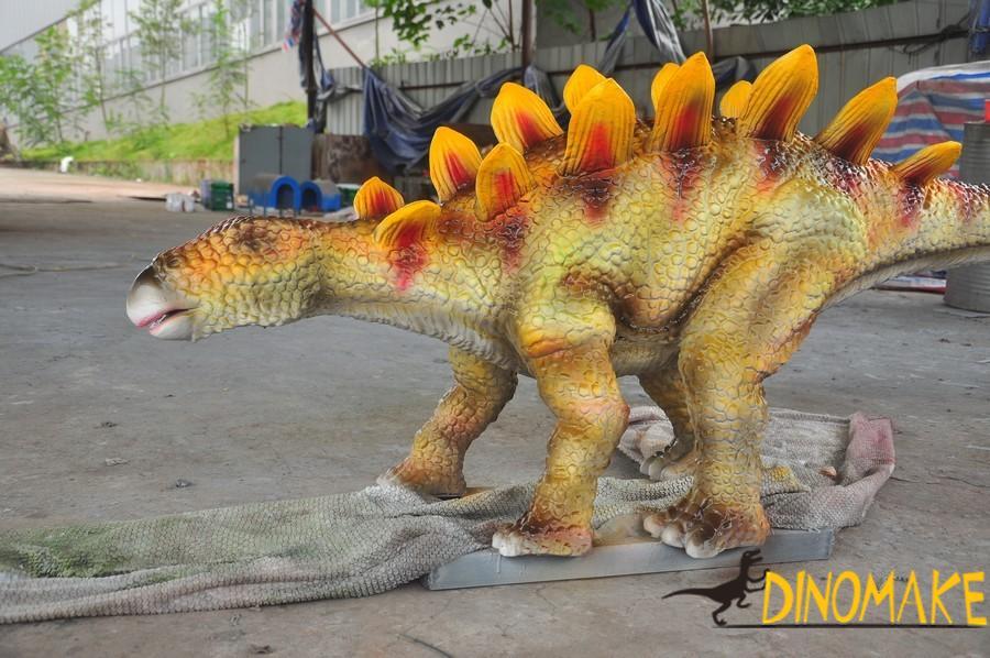stegosaur exhibition of Animatronic Dinosaur
