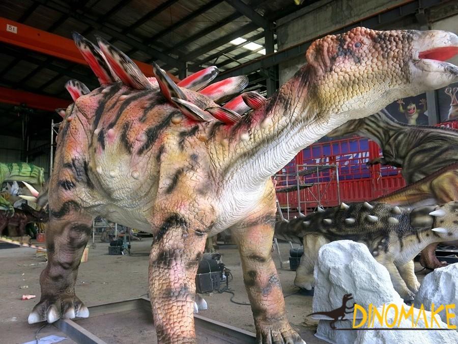 stegosaur exhibition of Animatronic Dinosaurs
