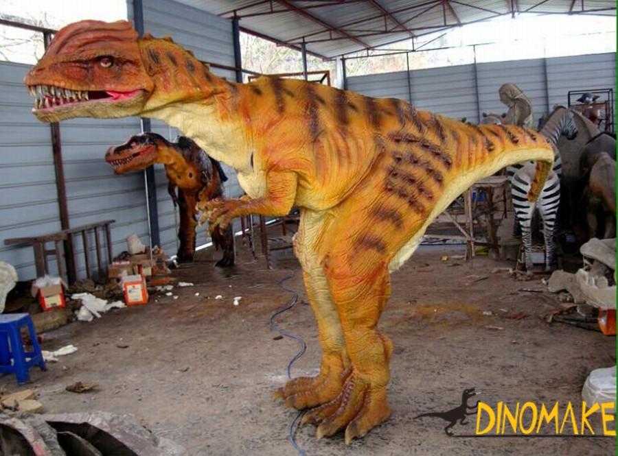 Adult Wearable Animatronic Dinosaur Costume Product Maker