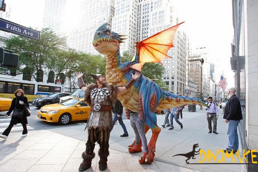 Adult Wearable Animatronic Dinosaurs Costume Maker